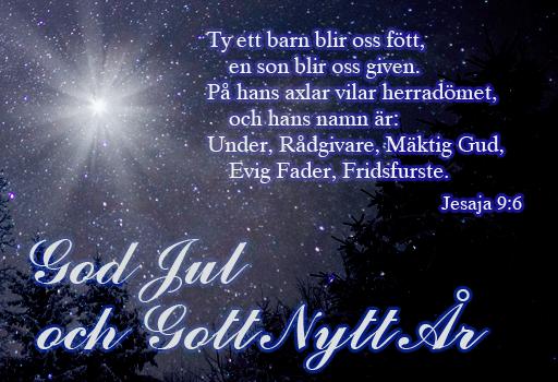 gott nytt år gratulationer God Jul och Gott Nytt År   Övrigt   Jesus iFokus gott nytt år gratulationer